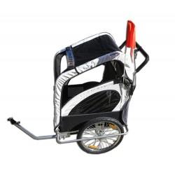 Remorque à vélo Samax ou Durca rehaussée pour enfant handicapé