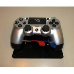 Manette de jeu PS4 adaptée pour utilisation des commandes R2 et L2 de la main gauche