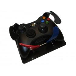 Manette de jeu vidéo pour handicapé avec déplacement des gâchettes LT, RT et détournement des boutons RB et LB