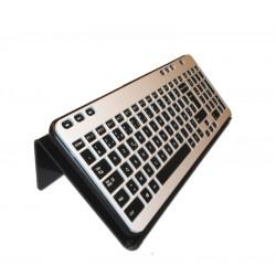 Support incliné pour clavier d'ordinateur pour utilisation avec licorne ou tige buccale