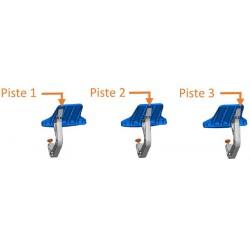 Décalage du bras pour adapter le JUMBOREST à la position des accoudoirs