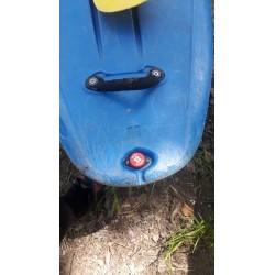 Bouchon de coca pour vider un bateau
