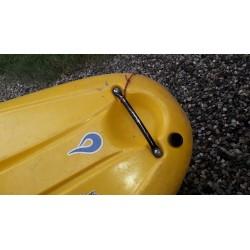 Installation de l'adaptateur sur un kayak liquidlogic