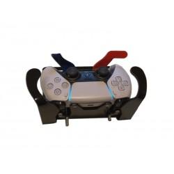 Manette de jeu Playstation 5 (PS5) adaptée pour handicap ou manipulation d'une main