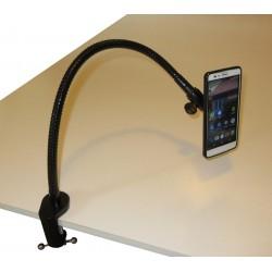 Support flexible pour smartphone ou téléphone.