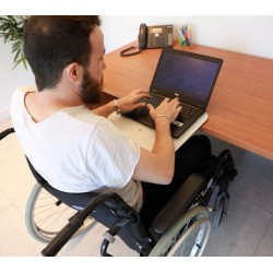 Mini tablette amovible JUMBOREST MINI ACCESS pour handicapé adaptable sur table ou bureau sans fixation