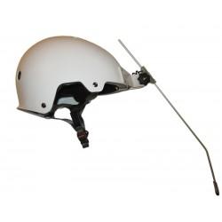 licorne montée sur casque couvrant pour tours de tête de 49 à 64 cm.