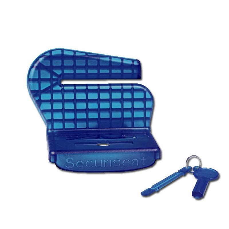 Securiseat, Dispositif pour empêcher l'ouverture de la ceinture de sécurité.