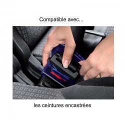 Blocage de la boucle de ceinture de sécurité grâce au Securiseat