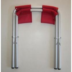 siège percé pliable, léger et peu encombrant