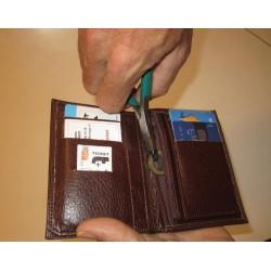 Mini pince, aide technique pour l'arthrose, permettant d'attraper des pièces ou cartes dans un porte feuille