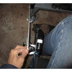Système de fixation du bras au fauteuil