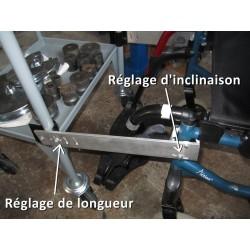 Bras de liaison réglable en longueur et en inclinaison