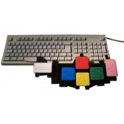 Adaptateur de clavier d'ordinateur pour élargir les touches