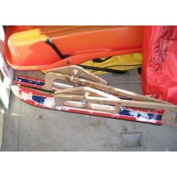 Les skis adaptés sont ammovible