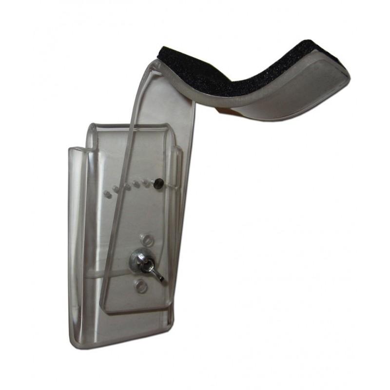 Repose bras pour fauteuil roulant fixé sur la ceinture du patient