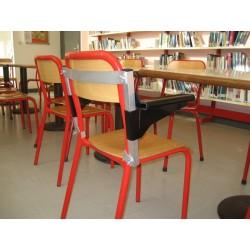 Accoudoirs amovibles pour chaise, réglables en hauteur