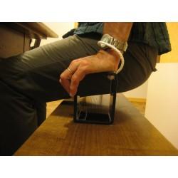 Utilisation des blocs en position haute. Aide technique pour le transfert des personnes paraplégiques