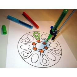 exemple d'utilisation de l'embout porte-crayon