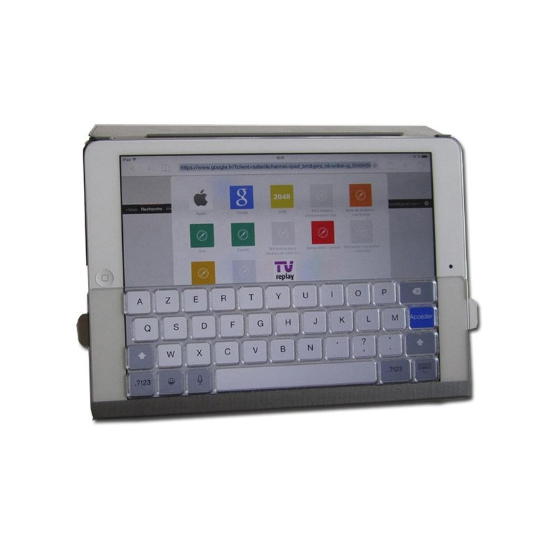 Guide-doigt amovible pour ipad ou tablette tactile