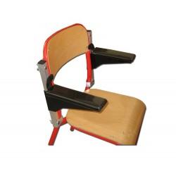 Accoudoirs amovibles pour dossier de chaise