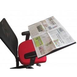 Pupitre de lecture pour journal, sur flexible