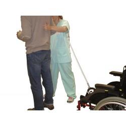 Accompagnement de la marche avec fauteuil