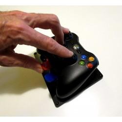 Manette de XBox 360 adaptée pour jouer d'une seule main