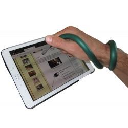 Stylet tactile auto-agripant pour difficultés de préhension