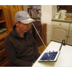 Licorne ultralégère pour le contrôle des ipad ou écrans tactiles