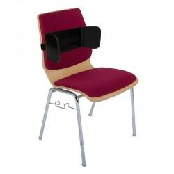 Montage du cale-tronc amovible pour chaise sur une chaise à commander séparément