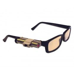 Pointeur laser de communication Kozette à monter sur lunettes de vue