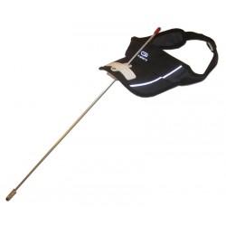 Licorne pour handicapés ultralégère montée sur visière, adaptée aux cas de SLA.