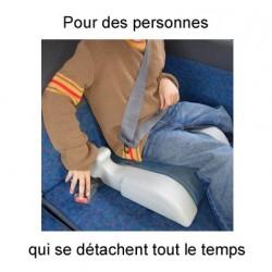 Securiseat pour empêcher les enfants de se détacher en voiture.