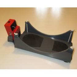 Adaptation d'une pédale de looper avec repose-pied suspendu pour mouvement de commande horizontal