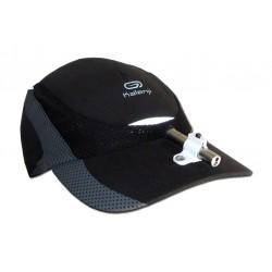 Pointeur laser de communication kOZETTE monté sur casquette