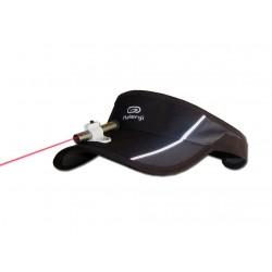 Pointeur laser de communication KOZETTE. S'utilise avec un tableau de communication imprimé avec pictogrammes + alphabet