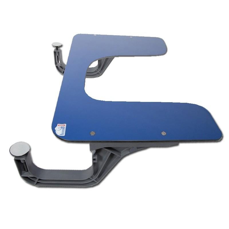Tablette JUMBOREST ACCESS échancrée pour améliorer la posture du tronc à table ou en classe.