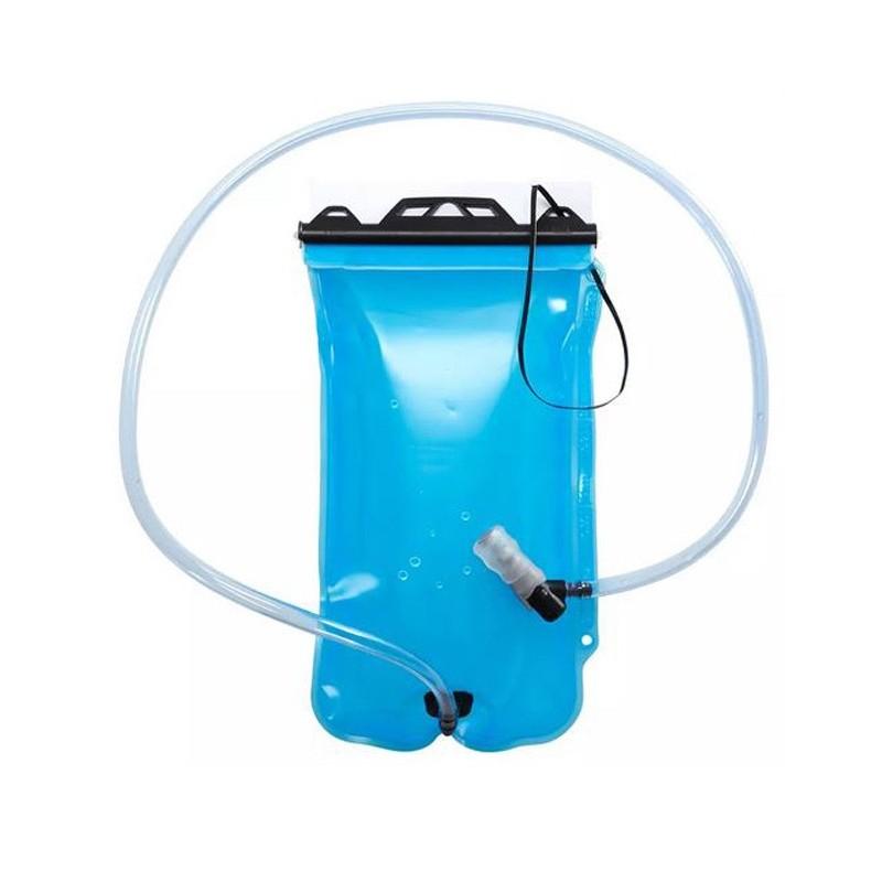 Poche à eau 1 litre pour flexible avec tuyau de boisson