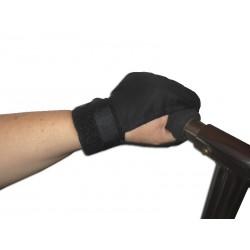 Gant de maintien de la main autour d'un guidon pour hémiplégie ou faiblesse musculaire
